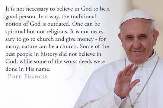 cool-Pope-Francis-quote-good-person