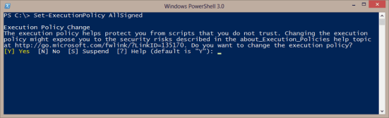 PowerShell-Execution-Policy